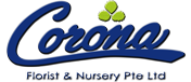 Corona Florist & Nursery Logo
